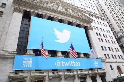 twitter ipo listed nyse