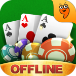 Unduh Teen Patti Offline♣Klub-The only 3patti with story 2.8.6 Apk