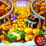 Unduh Princess Gold Coin Dozer Party 7.3.0 Apk