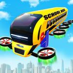 Download  Flying School Bus Robot: Hero Robot Games 10 Apk