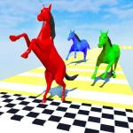 Download  Horse Run Fun Race 3D Games 1.6 Apk