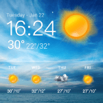 Download  weather and temperature app Pro 16.6.0.50031 Apk