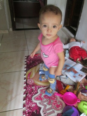 Bárbara 14 meses