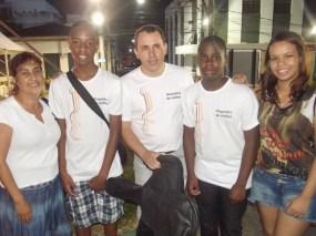 Lenilda, Iago, Juarez, Frederick e Juliana - Piraí Fest 2014