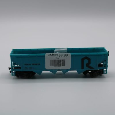Rock Model Train Car