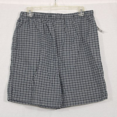 Basic Editions Plaid Shorts | M