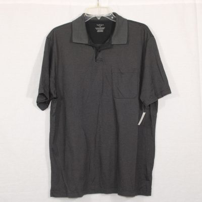 Van Heusen Black Shirt | L