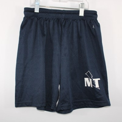 Badger Navy Blue Shorts | Youth XS