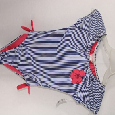 Tommy Bahama Striped Onepiece Swimsuit | Size 7