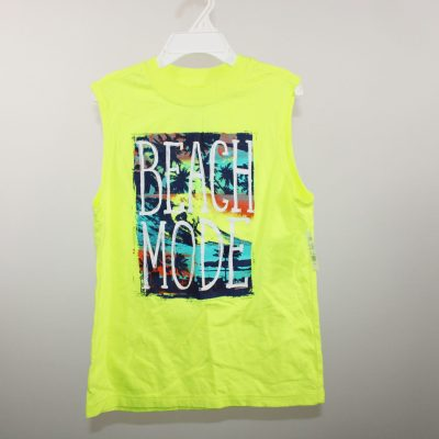 Faded Glory Yellow Sleeveless Shirt | M