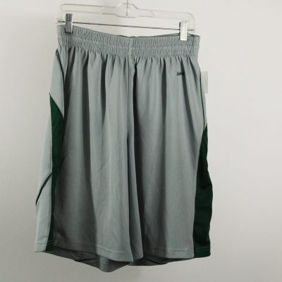 Eastbay Gray/Green Stripe Athletic Shorts | Size 36