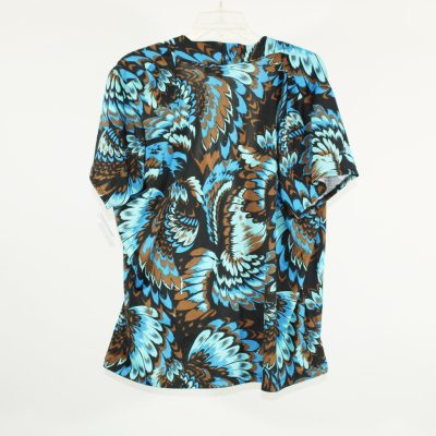 NY Collection Wrap Top | 2X