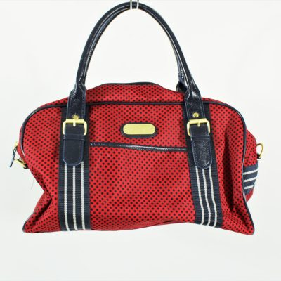 Jessica Simpson Red Dotted Purse