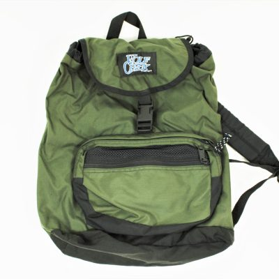 Wolf Pack Olive Green Backpack