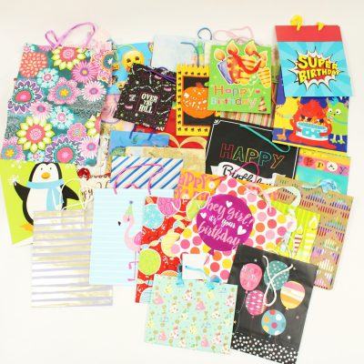 Assortment of Gift Bags