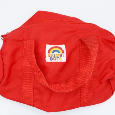Bright Dots Red Toiletry Bag