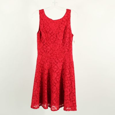 Speechless Red Lace Dress   Size 7