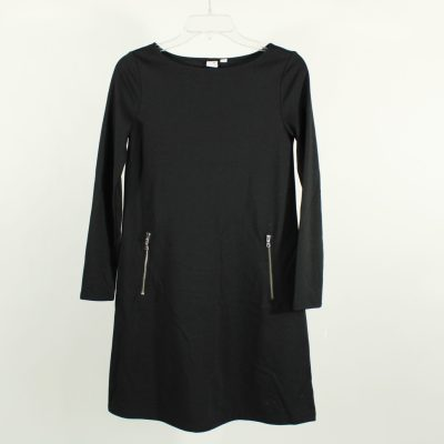 Gap Black Zipper Pocket Dress | S