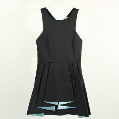 Silence + Noise Black Layered Dress | M