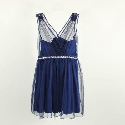 Deb Blue Tulle Dress | Size 9