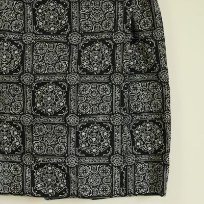 Talbots Black & White Patterned Skirt | Size 14