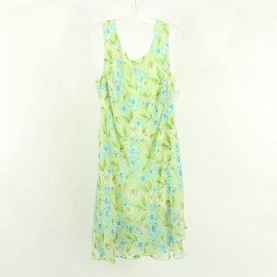 Scarlett Green Floral Dress | Size 18