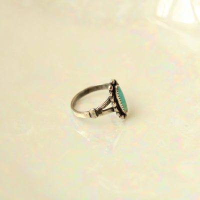 Turquoise Sterling Silver Ring | Size 5 1/2