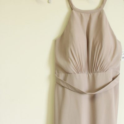 Christina Wu Celebrate Pale Pink Dress | Size 12