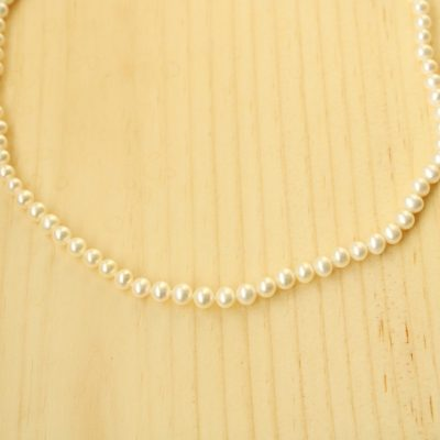 Genuine Pearl Classic Necklace