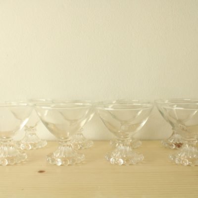 Anchor Hocking Boopie Bubble Pattern Cocktail Glasses | Set Of 8