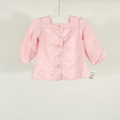 Old Navy Pink Polyester Top | Size 6-12M