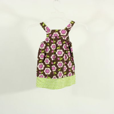 Carter's Brown & Purple Floral Dress | Size 18M