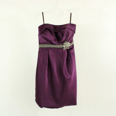 NEW Love Purple Strapless Semi-Formal Dress | Size 14