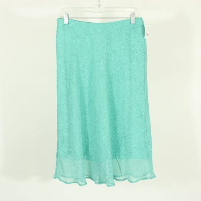 Jaclyn Smith Blue Dotted Skirt | Size S