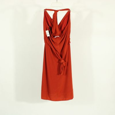 Body Central Burnt Orange Dress | Size S