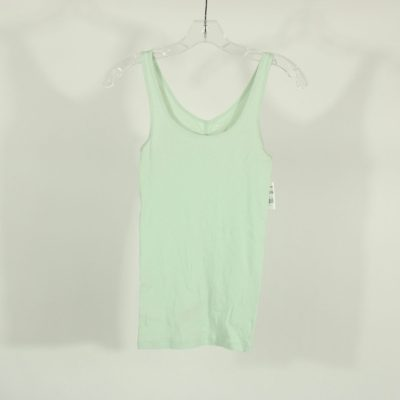 Old Navy Blue Ribbed Fitted Tank | Size S