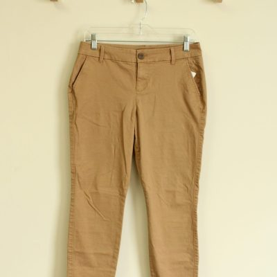 Old Navy Skinny Brown Khaki Pants | Size 2 Short