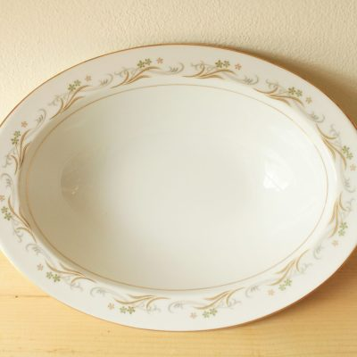 Vintage Sango Japan Fine China Belaire Oval Serving Bowl Dish | 2 Available