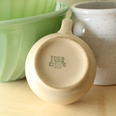 Inca Ware Ceramic Tan Mug New Castle, PA