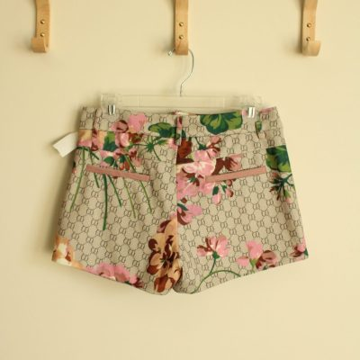 CD Patterned Floral Shorts | Size L (12)
