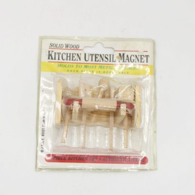 Wooden Kitchen Utensil Miniatures Magnet