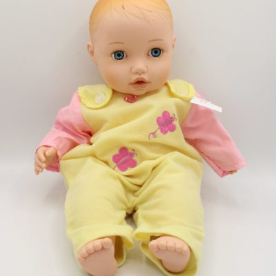 Baby Doll In Yellow Outfit