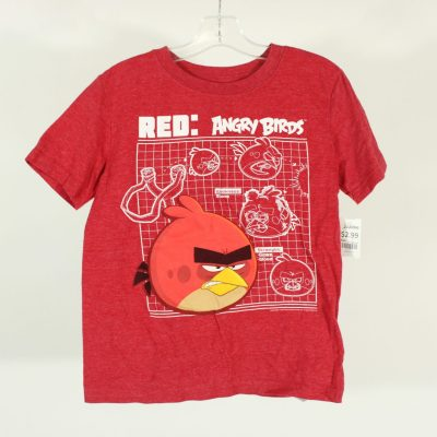 GapKids Angry Birds Red T-Shirt | Size S