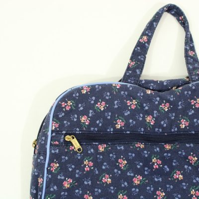 Totes Blue Floral Toiletry Bag