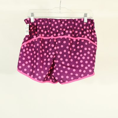 Danskin Now Pink Polka Dotted Athletic Shorts | Size M