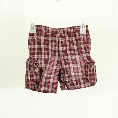 The Children's Place Red Plaid Shorts | Size 24M