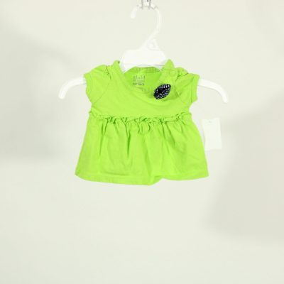 Child Of Mine Carter's Green Shirt | Size Newborn