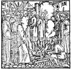 Martyrdom of Johann Esch and Heinrich Voes in 1523