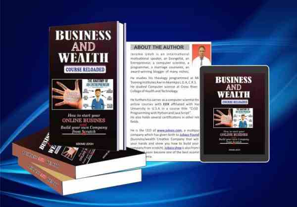 INTRODUCING BUSINESS AND WEALTH COURSE RELOADED