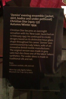 Information about the display.